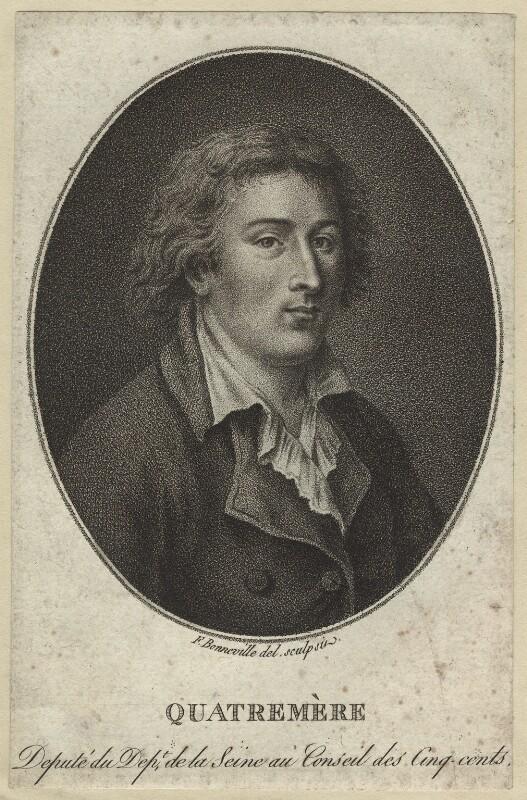 Quatremère de Quincy par François Bonneville